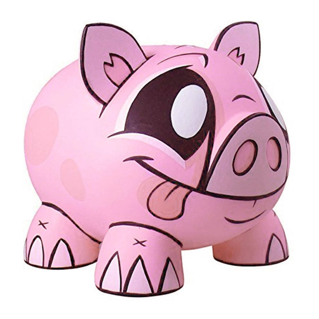 Joe Ledbetter Tirelire Piggy Bank Pink Vinyl Figure