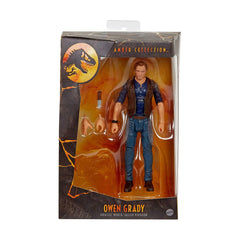Jurassic Park Amber Collection Owen Grady Action Figure