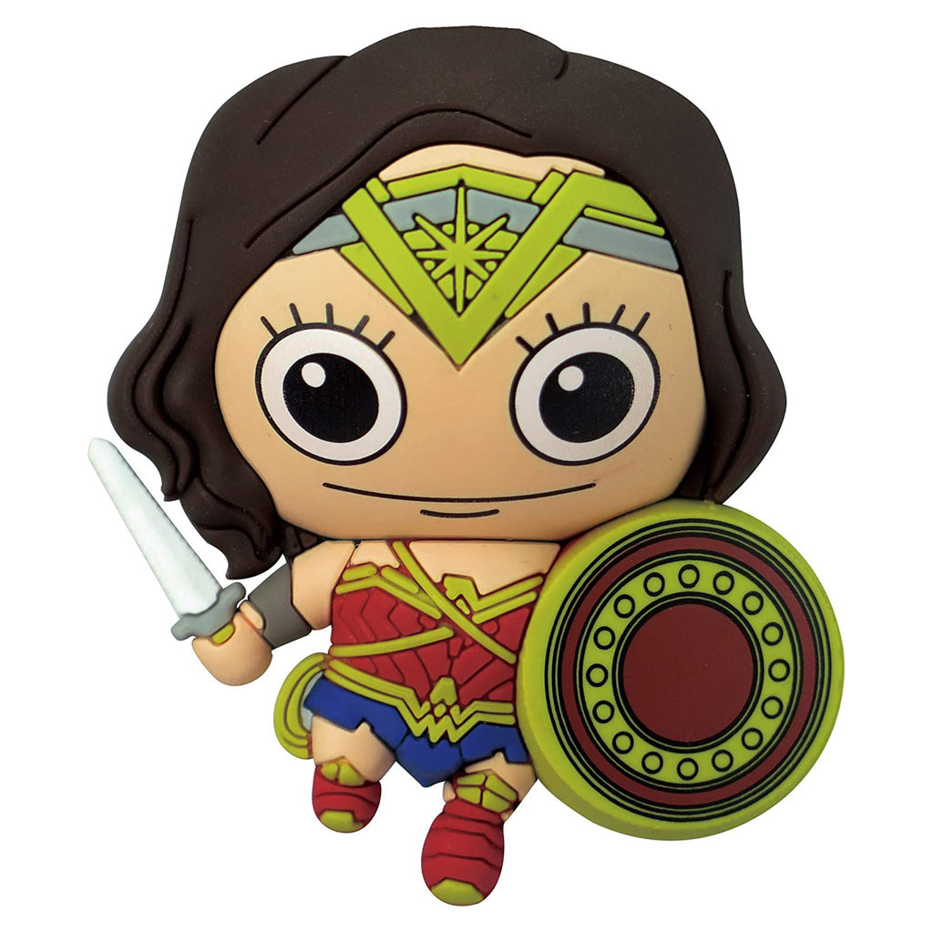 Justice League Wonder Woman 3D Foam Magnet