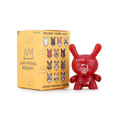 Kidrobot Basquiat Faces Dunny Blind Box Mini Figure