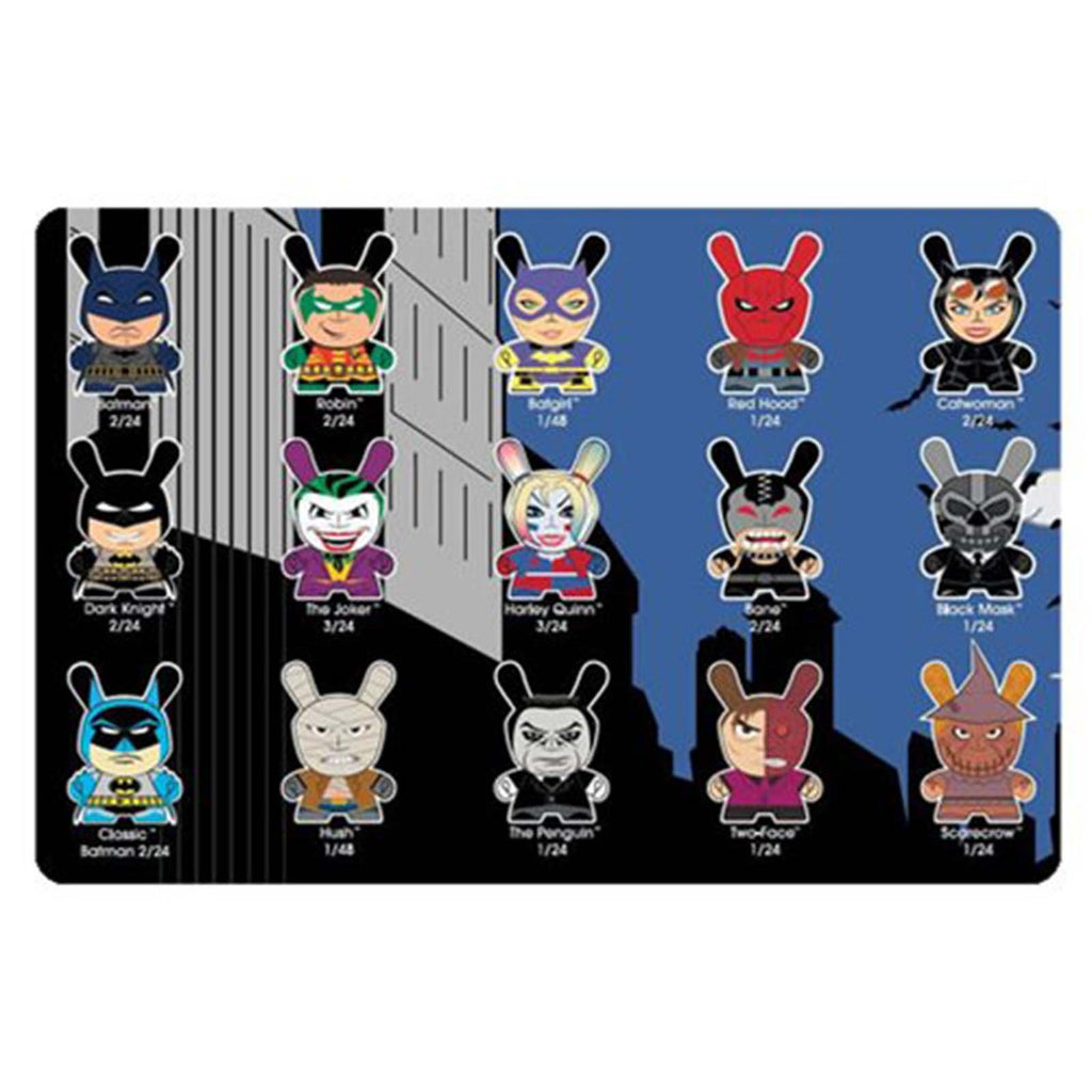 Kidrobot Blind Boxes - Kidrobot Batman Dunny Blind Box Mini Figure
