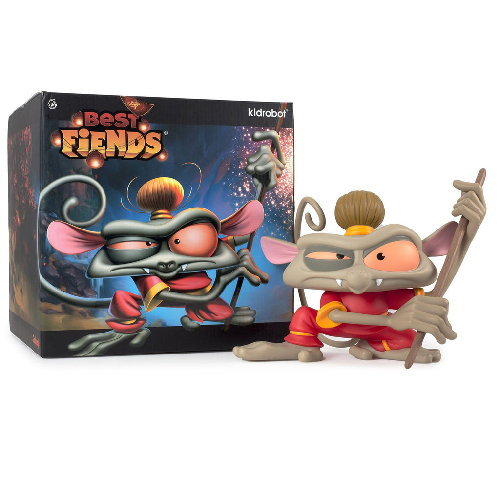 Kidrobot Limited Edition Figures - Kidrobot Best Fiends Tarsier Monkey Medium Figure