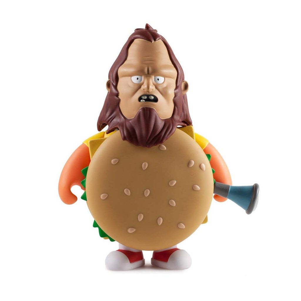 Kidrobot Bob's Burgers Beefsquatch Medium 7 Inch Vinyl Figure