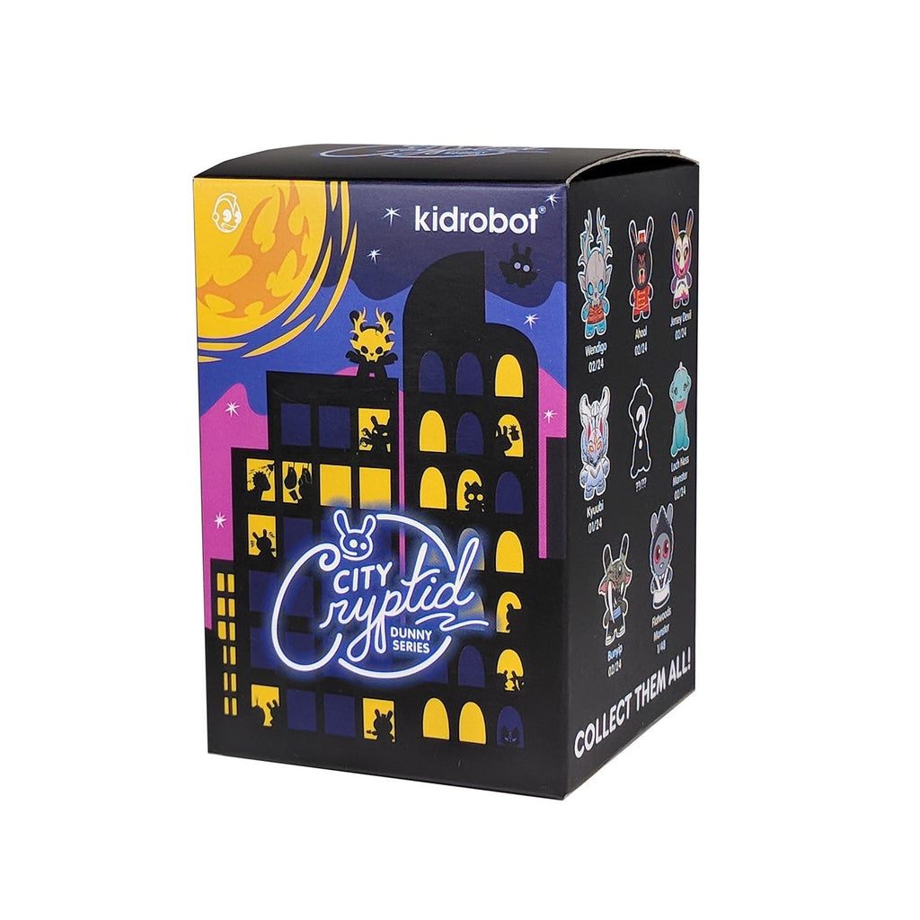 Kidrobot City Cryptid Dunny Blind Box Mini Figure