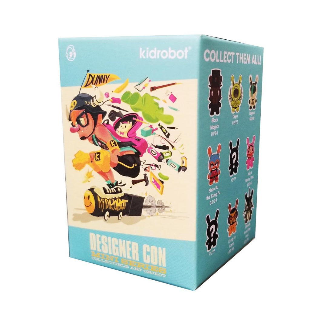Kidrobot Blind Boxes - Kidrobot Designer Con Dunny Mini Series Blind Box Figure