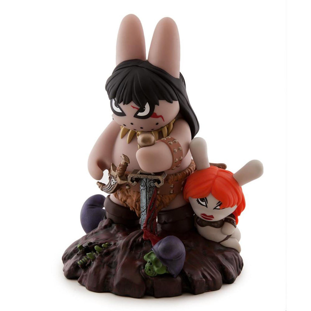 Kidrobot Frazetta Conan The Barbarian Labbit 8 Inch Figure