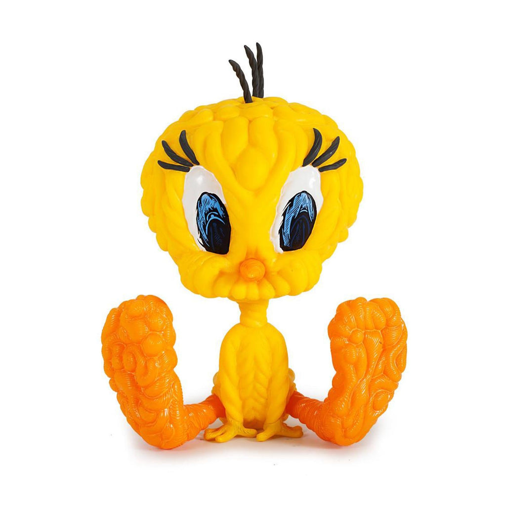 Kidrobot Looney Tunes Mark Dean Veca Tweety Yellow 8 Inch Vinyl Figure