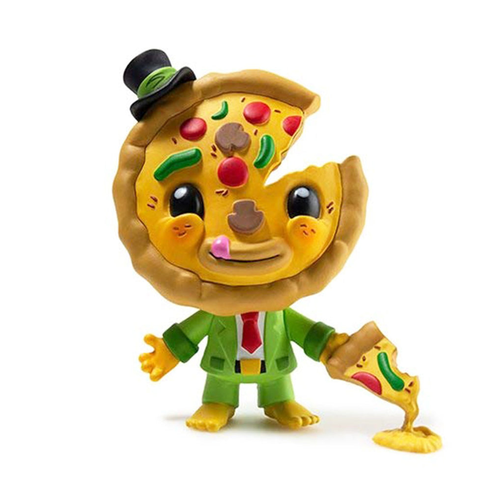 Kidrobot My Little Pizza Green 4.5 Inch Vinyl Figure