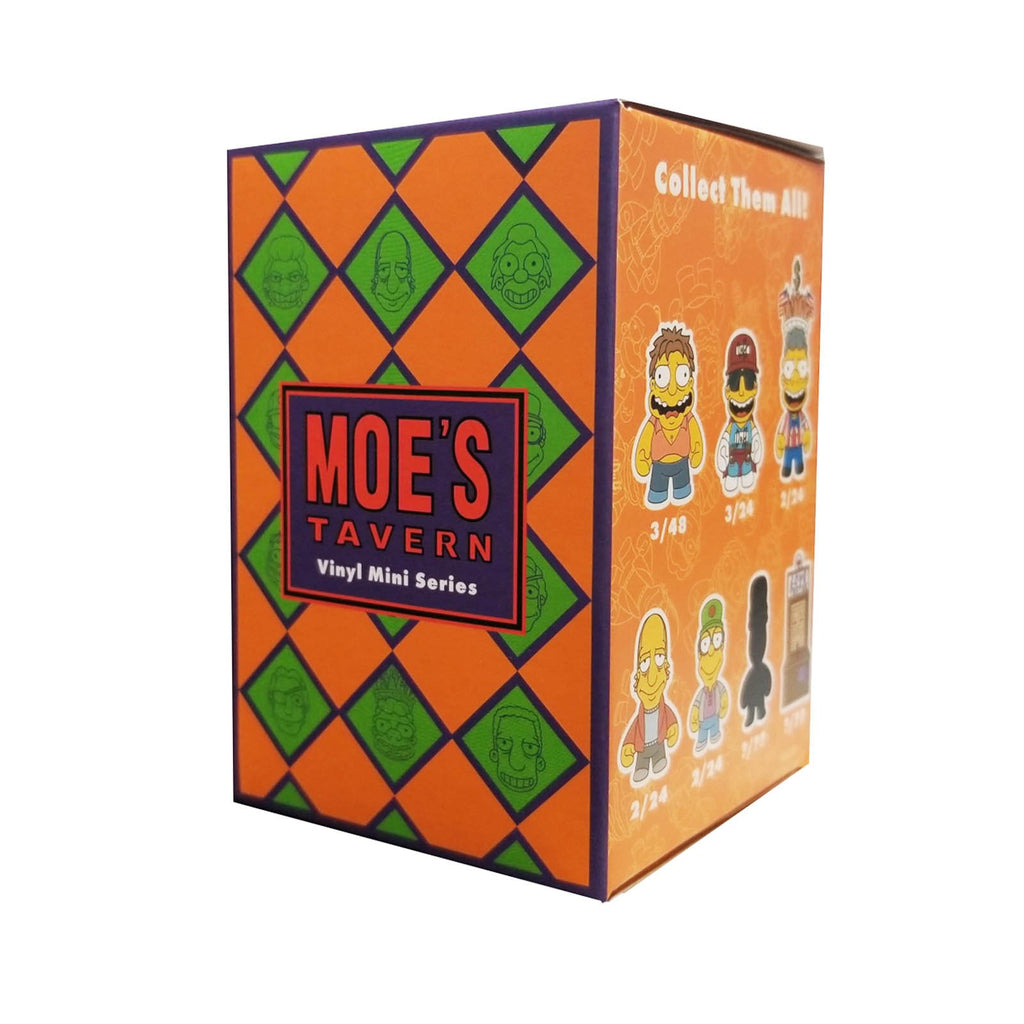 Kidrobot Simpsons Moe's Tavern Blind Box Mini Figure