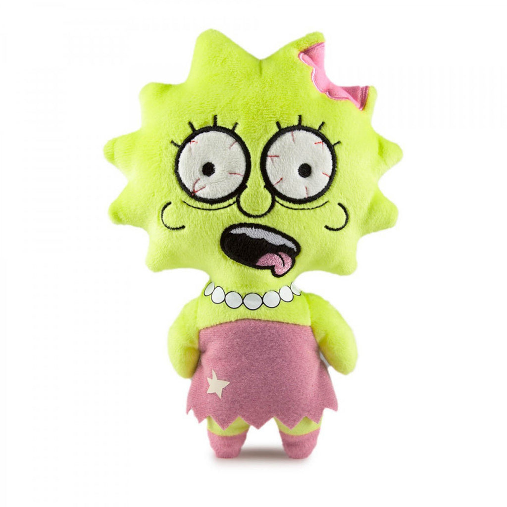 Kidrobot Simpsons Phunny Zombie Lisa Plush Figure