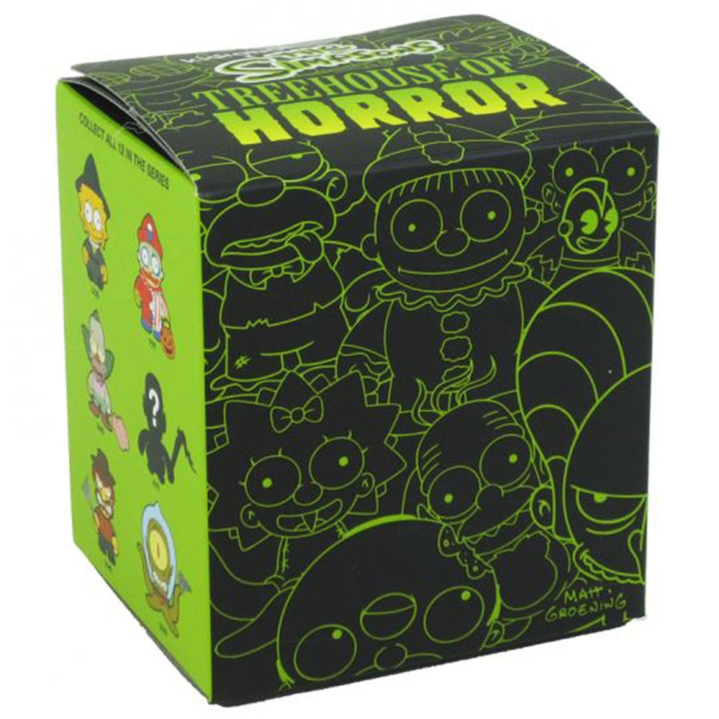 Kidrobot Simpsons Tree House Of Horror Blind Box Figure