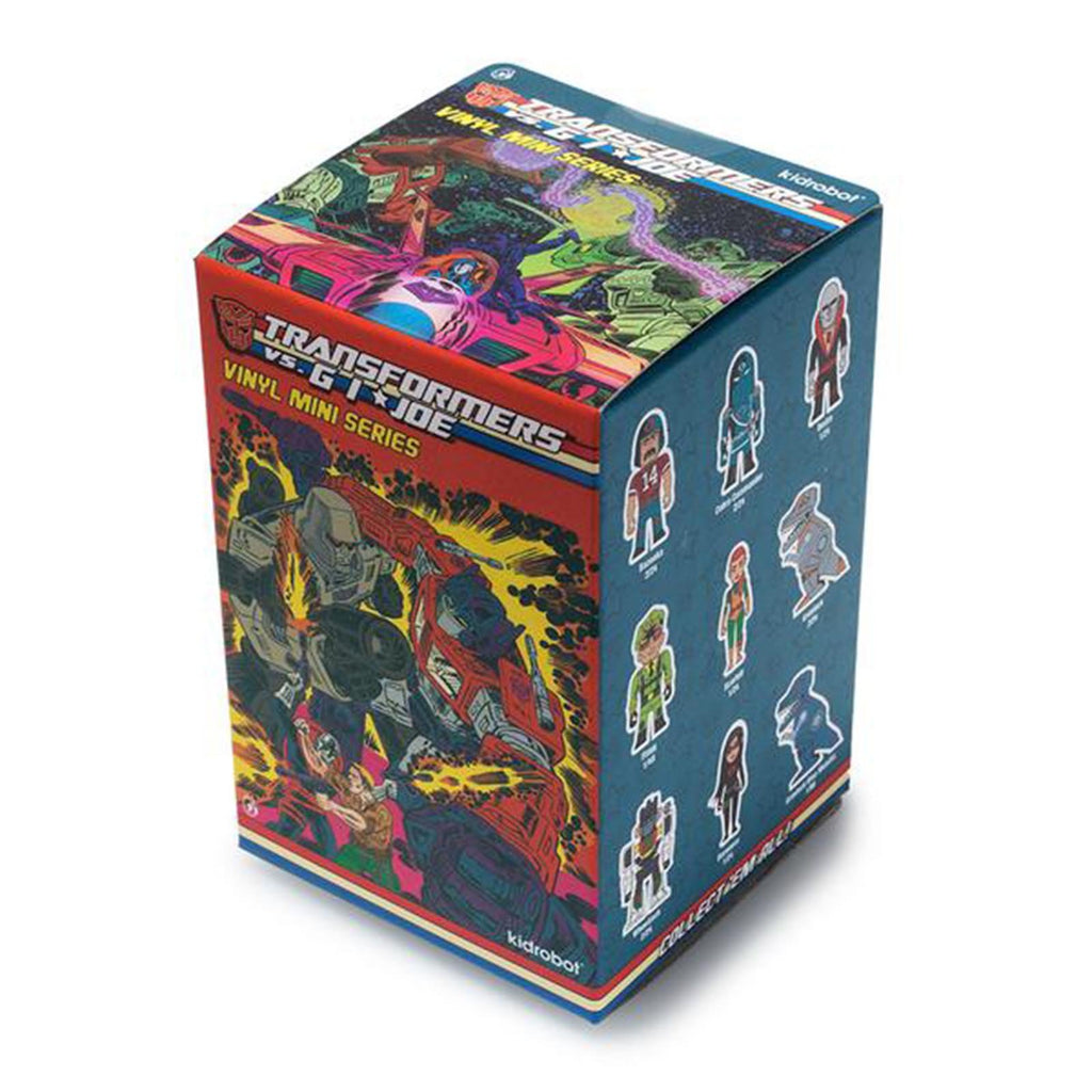 Kidrobot Transformers Vs G.I. Joe Blind Box Mini Figure