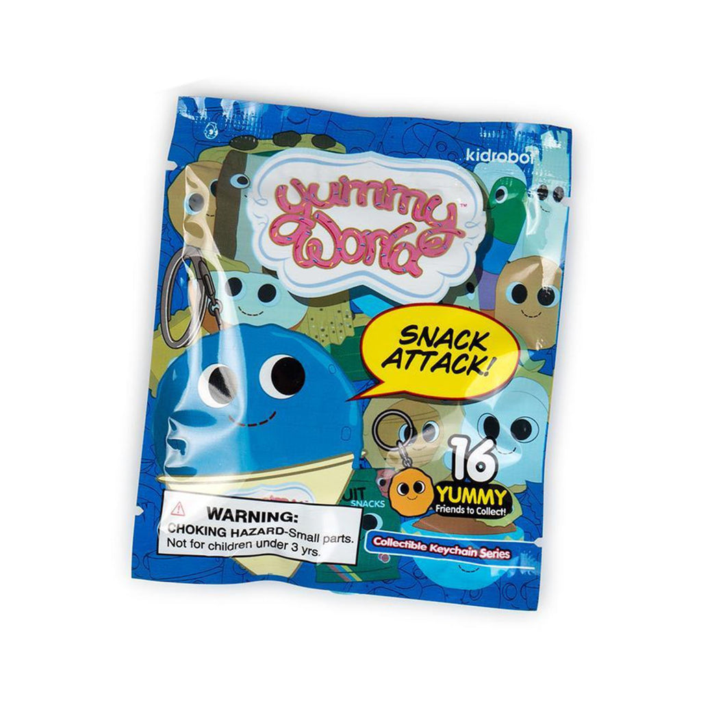 Kidrobot Yummy Snack Attack Blind Bag Keychain Figure