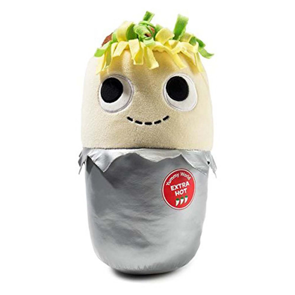Kidrobot Yummy World Plush - Kidrobot Yummy World Burt The Burrito 10 Inch Plush Figure