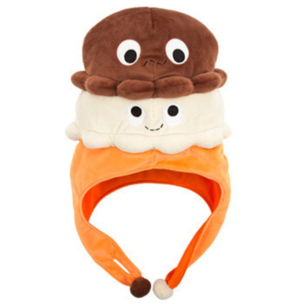 Kidrobot Yummy World Hat - Kidrobot Yummy World Double Scoop Twins Hat
