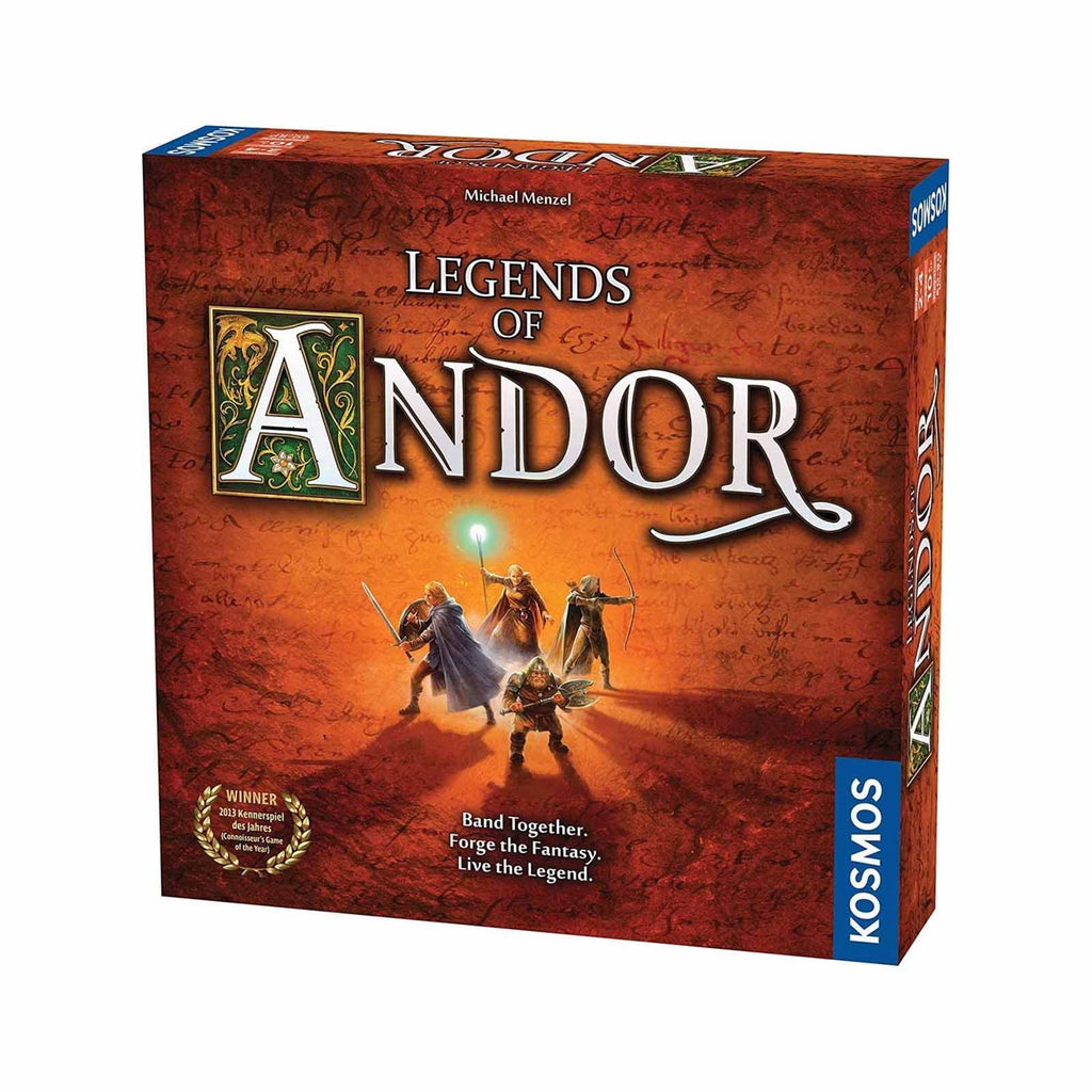 Kosmos Legends Of Andor The Board Game