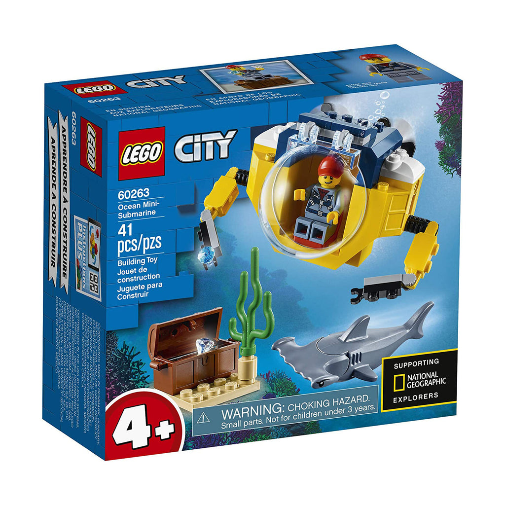 LEGO® City Ocean Mini-Submarine Building Set 60263