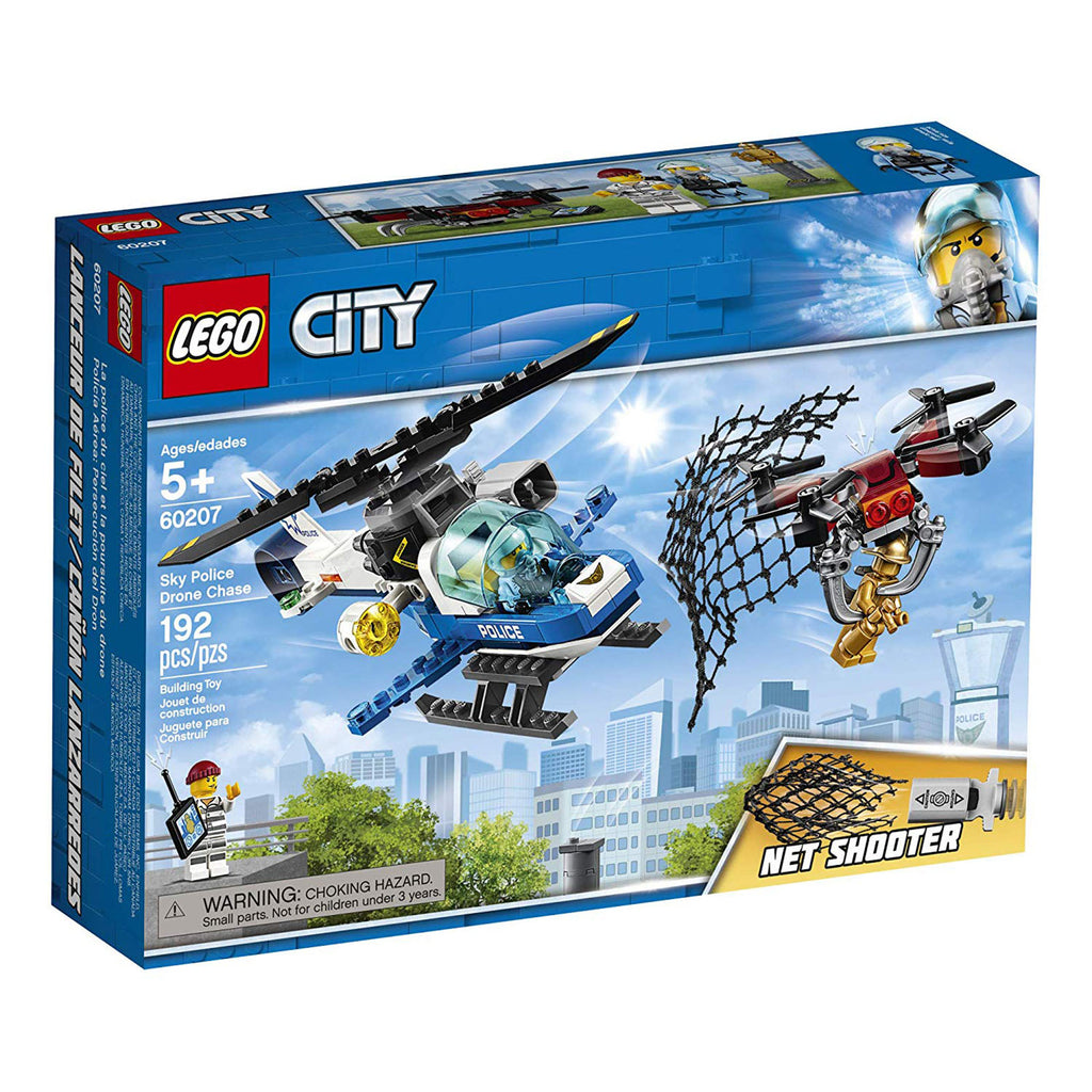 LEGO® City Sky Police Drone Chase Building Set 60207