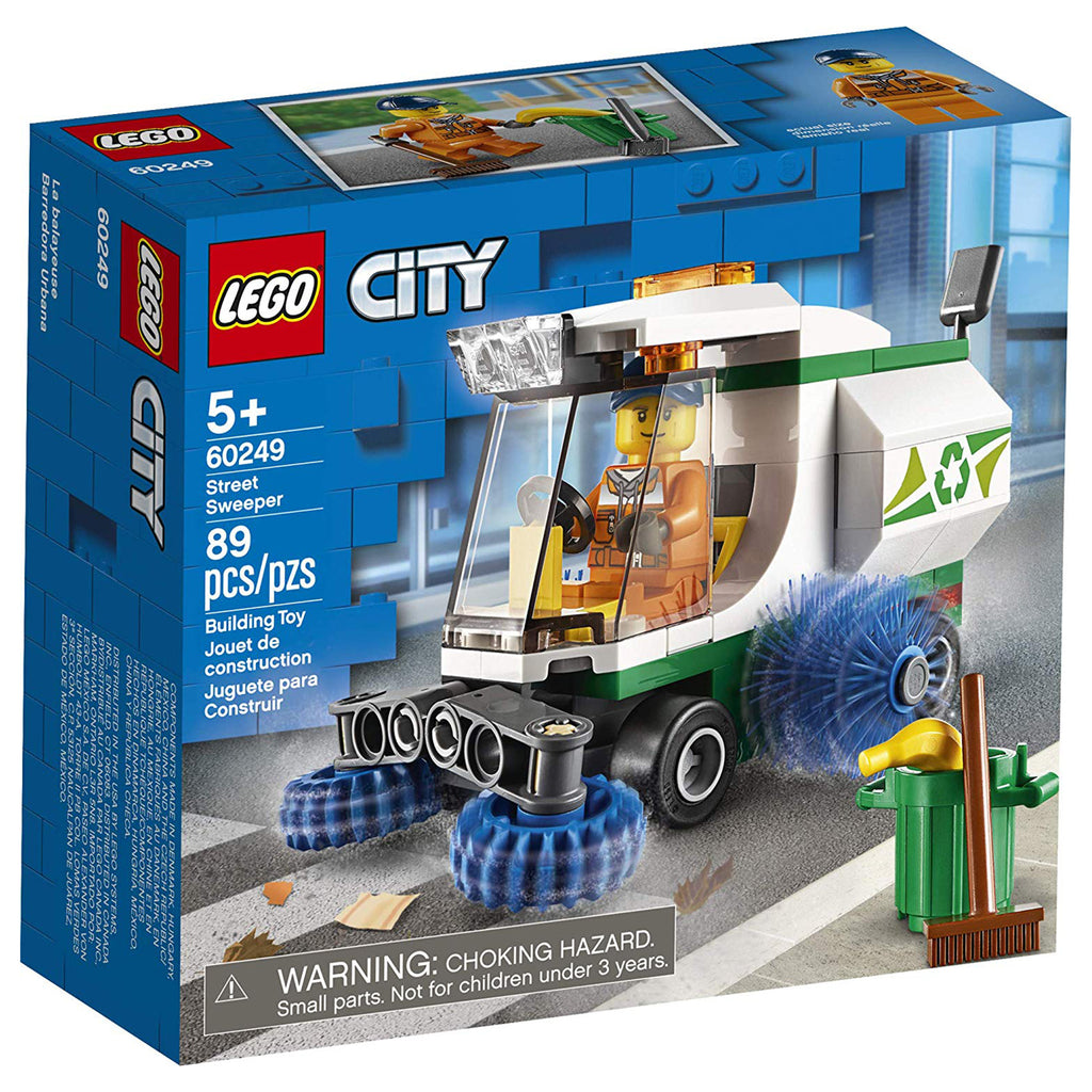 LEGO® City Street Sweeper Building Set 60249