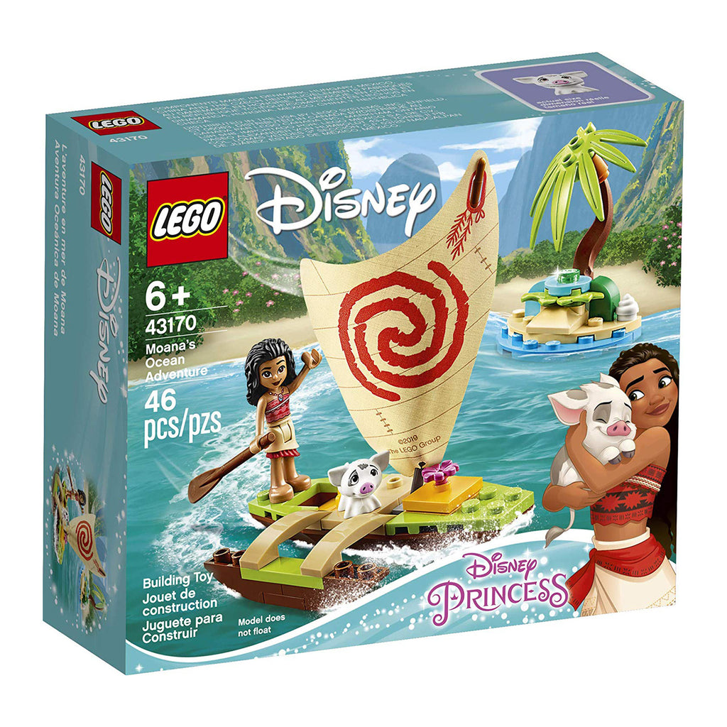 LEGO® Disney Moana's Ocean Adventure Building Set 43170
