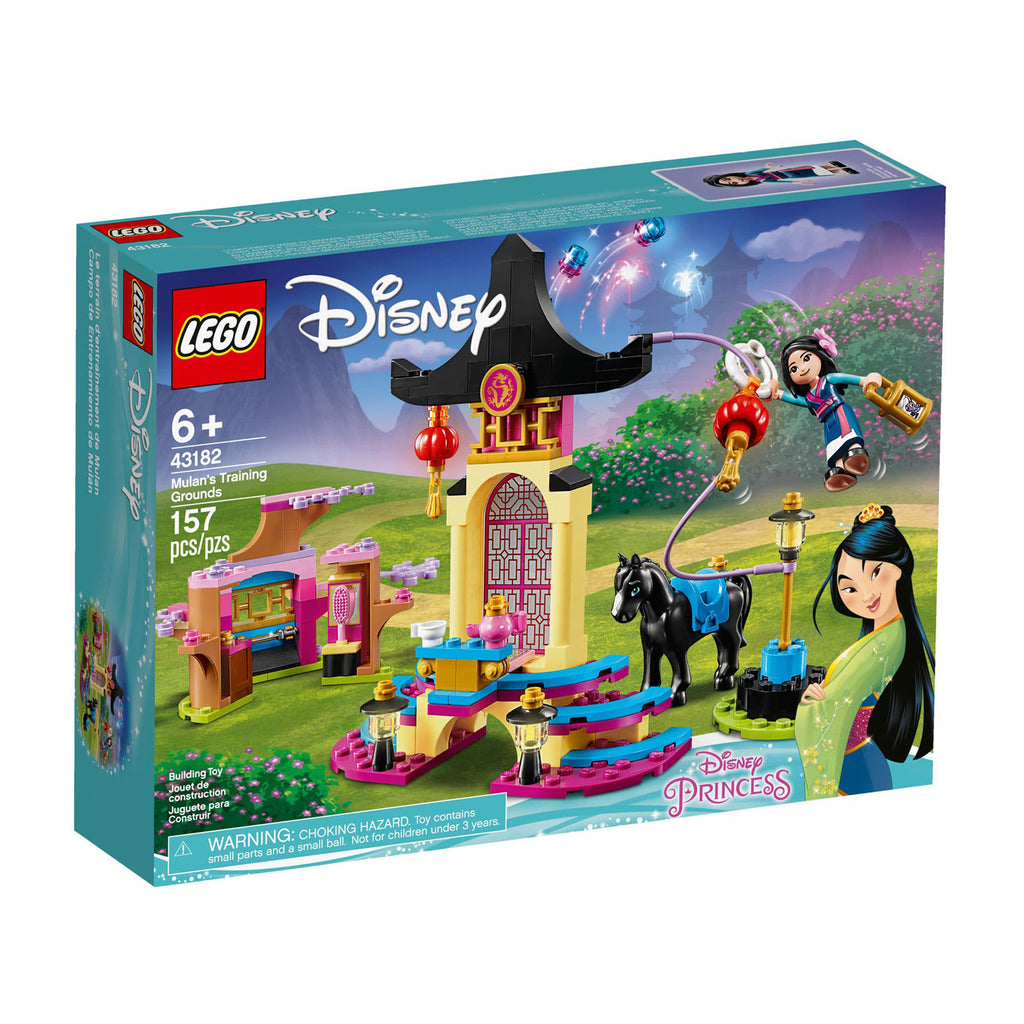 LEGO® Disney Mulan's Training Grounds Building Set 43182