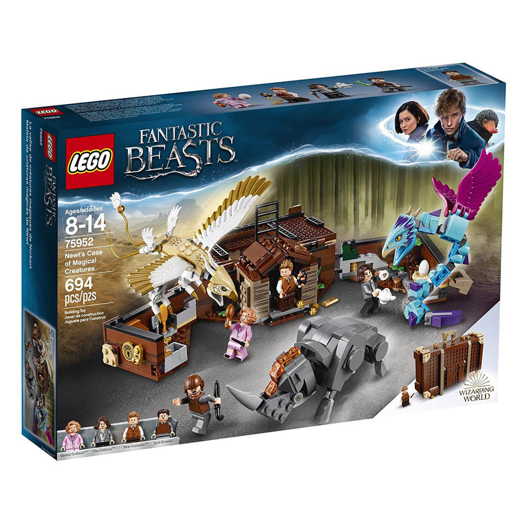 LEGO® Fantastic Beasts Newt's Case Of Magical Creatures Building Sets 75952