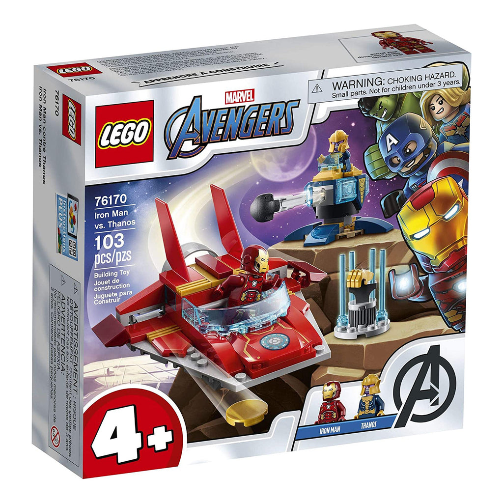 LEGO® Marvel Avengers Iron Man Vs Thanos Building Set 76170