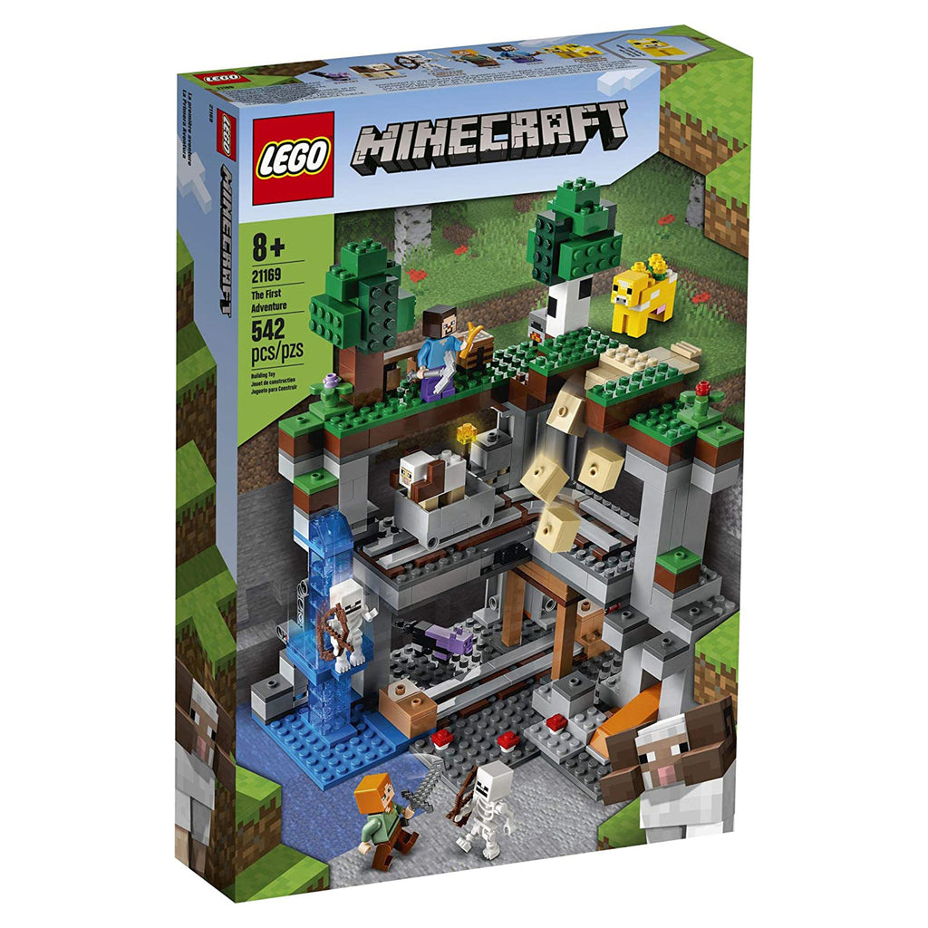 LEGO® Minecraft The First Adventure Building Set 21169