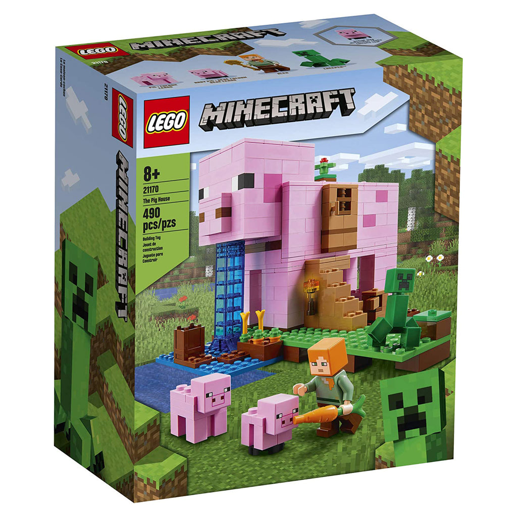 LEGO® Minecraft The Pig House Building Set 21170