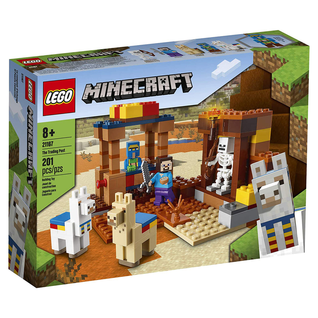 LEGO® Minecraft The Trading Post Building Set 21167