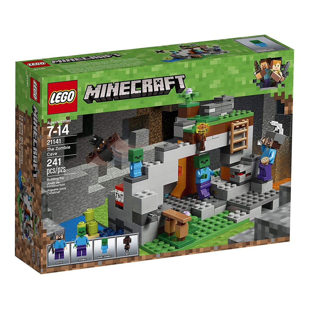 LEGO® Minecraft The Zombie Cave Building Set 21141