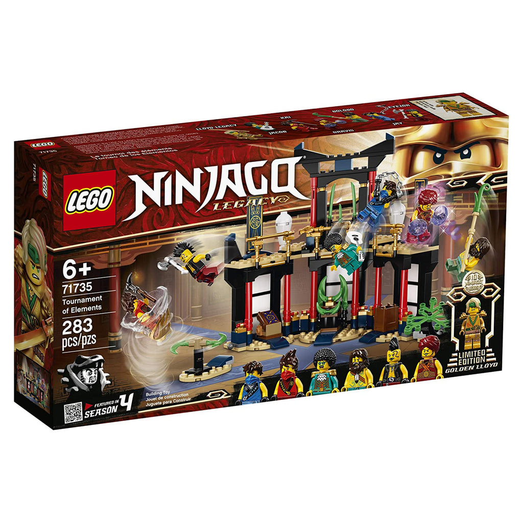 LEGO® Ninjago Legacy Tournament Of Elements Building Set 71735