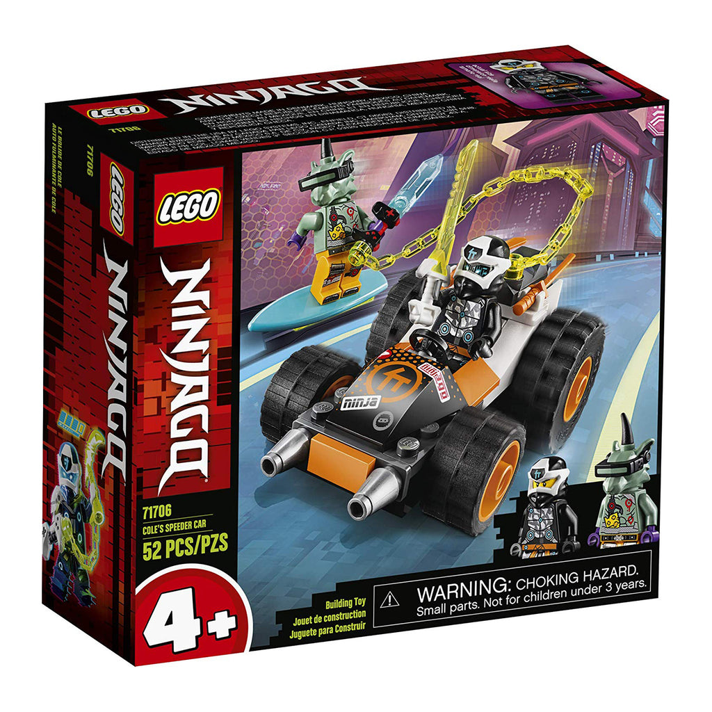 LEGO® Ninjago Cole's Speeder Car Building Set 71706