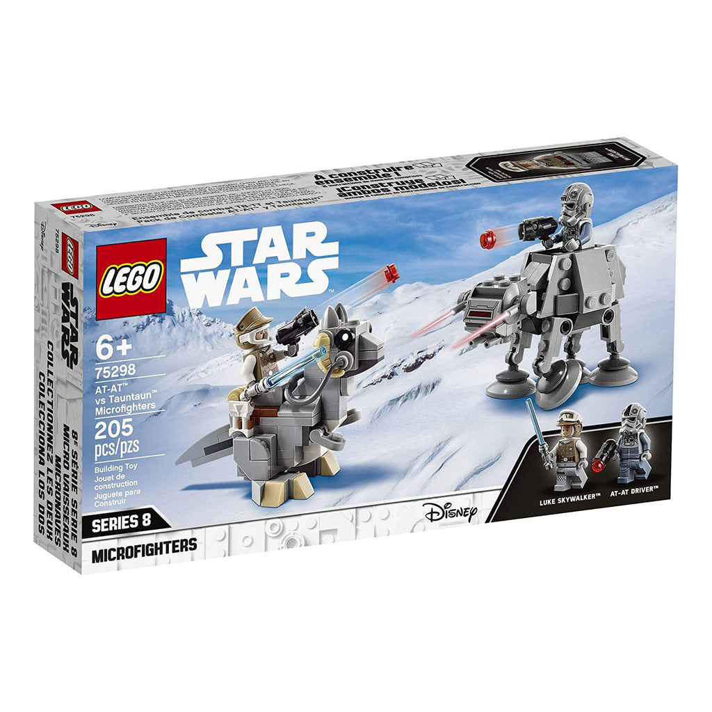 LEGO® Star Wars AT-AT Vs Tauntaun Microfighters Building Set 75298