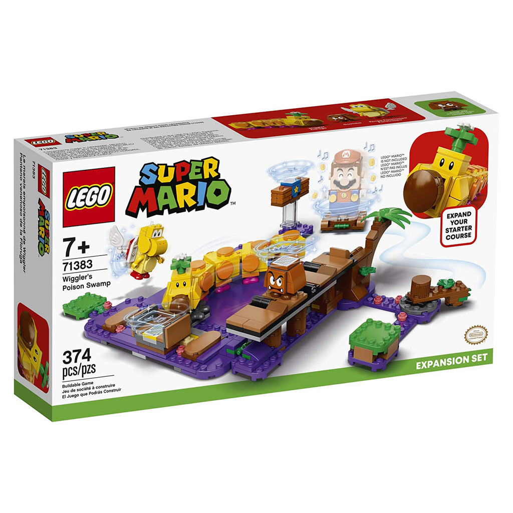 LEGO® Super Mario Wiggler's Poison Swamp Building Set 71383