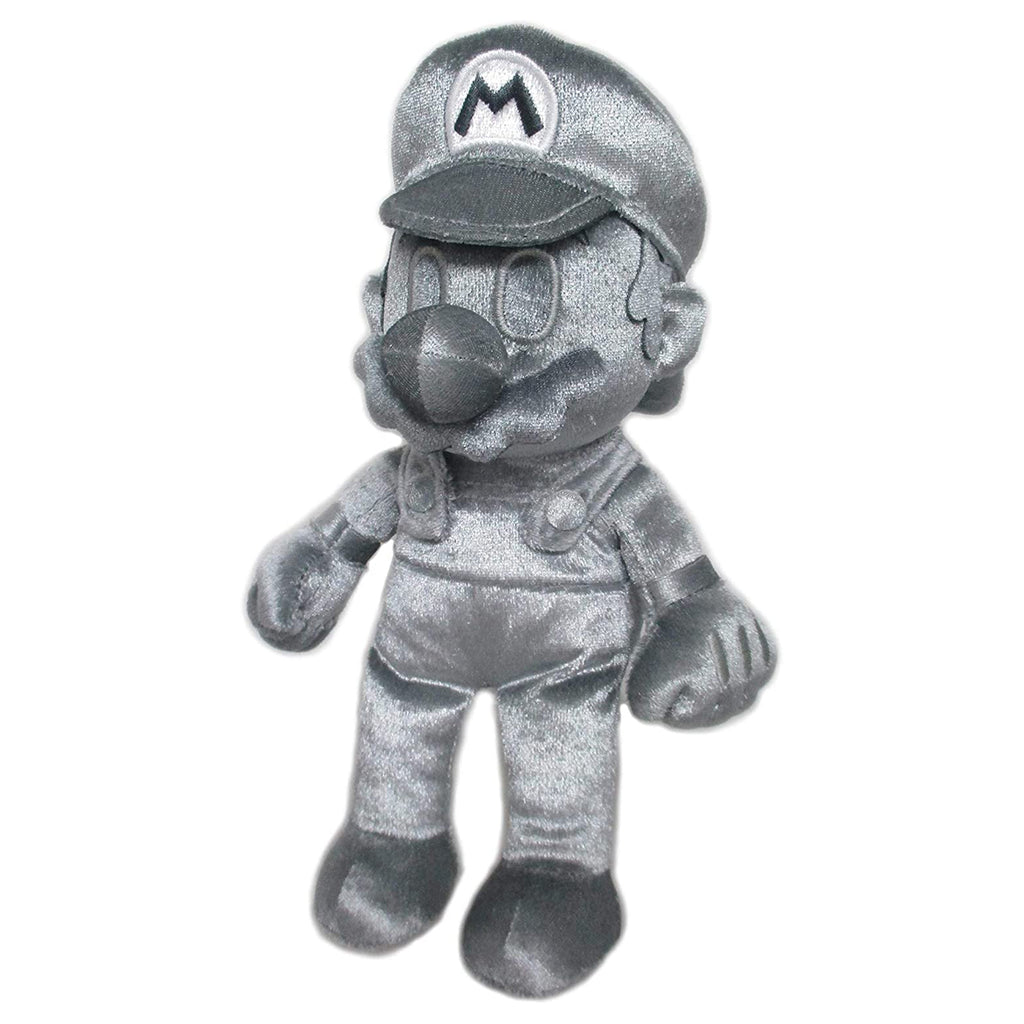 Little Buddy Metal Mario 10 Inch Plush Figure