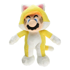 Little Buddy Super Mario Cat Mario 10 Inch Plush