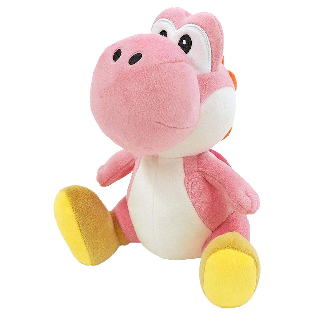 Little Buddy Super Mario Pink Yoshi 8 Inch Plush Figure