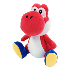 Little Buddy Super Mario Red Yoshi 8 Inch Plush Figure