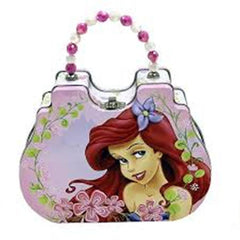 Purses - Little Mermaid Metal Tin Purse Ariel Flower