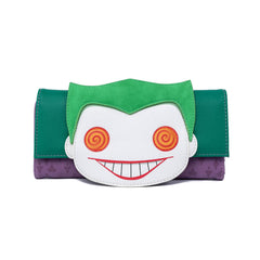 Loungefly DC Comics Joker Eyes POP Wallet
