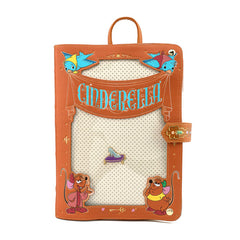 Loungefly Disney Cinderella Pin Trader Mini Backpack