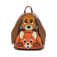 Loungefly Disney Fox And The Hound Cosplay Mini Backpack