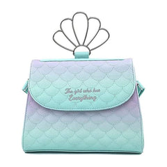 Loungefly Disney Little Mermaid Ombre Scales Crossbody Bag Purse