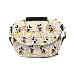 Loungefly Disney Mickey Mouse Hardware Crossbody Bag Purse