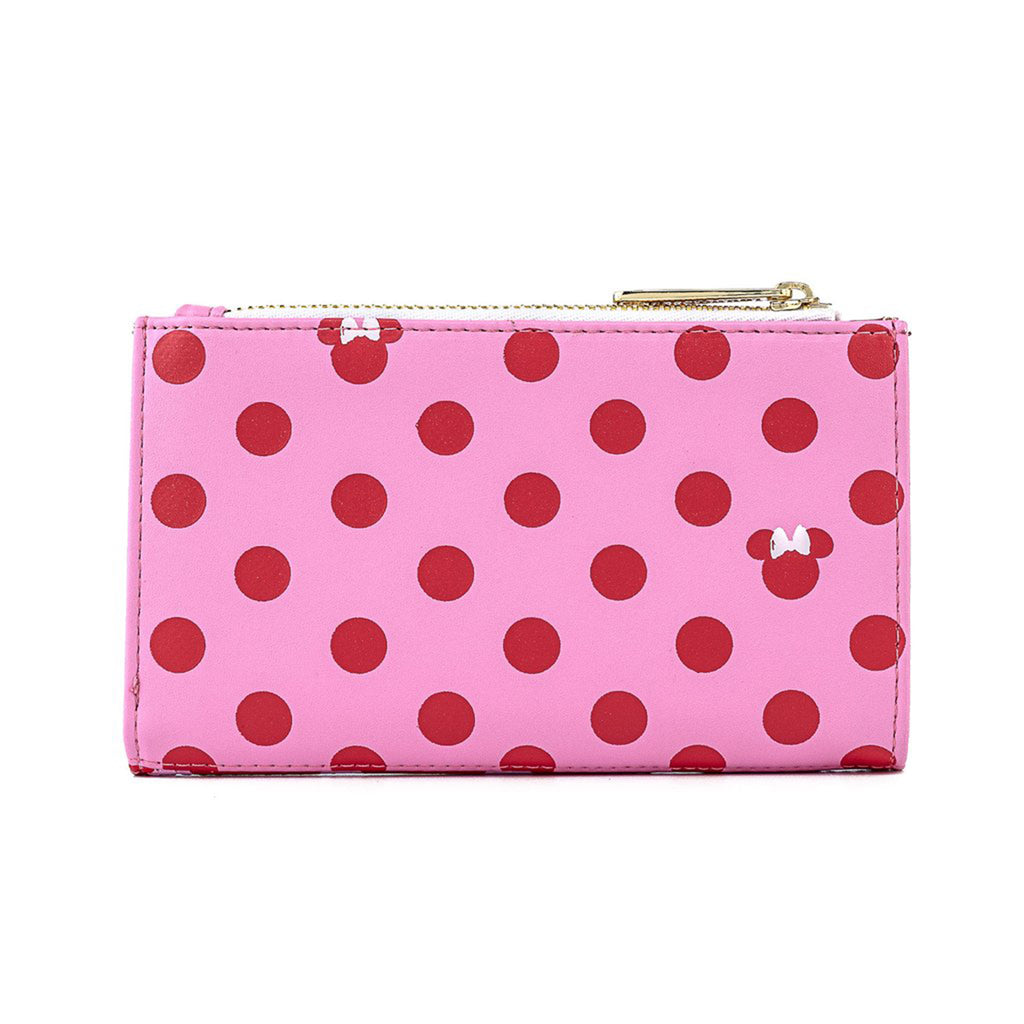 Loungefly Disney Minnie Mouse Pink Polka Dot Wallet