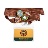 Loungefly Disney Pixar Up Wilderness Explorer Lanyard With Pins