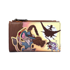 Loungefly Disney Rescuers Down Under Flap Wallet