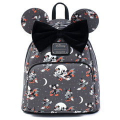 Loungefly Disney Vampire Mickey & Witch Minnie Halloween Mini Backpack