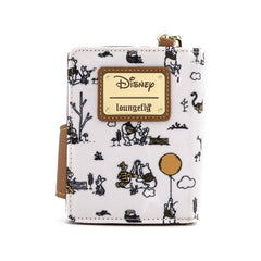 Loungefly Disney Winnie The Pooh Line Drawing Flap Wallet